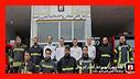 گزارش تصویری از بازدید سرپرست و تنی چند مدیران سازمان آتش نشانی از ایستگاههای تابعه آتش نشانی رشت