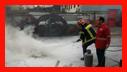 آموزش ایمنی و آتش نشانی به کارکنان اداره برق /آتش نشانی رشت