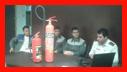 آموزش ایمنی و آتش نشانی به کارکنان شرکت سلامت بخش هستی/آتش نشانی رشت