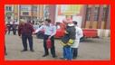 آمـوزش ایمنـی و آتش نشانی برای دانش آمـوزان دبیرستان استعدادهای درخشان /آتش نشانی رشت