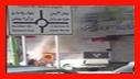 مهار آتش سوزی در خیابان حافظ رشت/آتش نشانی رشت