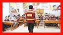 آمـوزش ایمنـی و آتش نشانی به کودکان مهد و پیش دبستانی رنگین کمان /آتش نشانی رشت