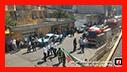 تلاش 43 آتش نشان در پی آتش سوزی در خیابان معلم رشت/آتش نشانی رشت