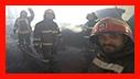 آتش سوزی نفس گیر در شرکت کارتن سازی شهر صنعتی رشت/ آتش نشانی رشت