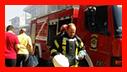 تلاش 58 آتش نشان در پی آتش سوزی در باقر آباد رشت