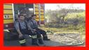 12 ساعت تلاش آتش نشانان برای اطفای آتش سوزی علفزارها ی رشت