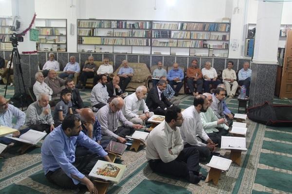 برگزاری ششمین  محفل انس با قرآن کریم در مسجد حضرت ابوالفضل (ع) شهرک قدس