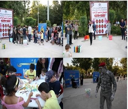 سومین برنامه ی جشنواره ی نسیم کرامت که به همت سازمان فرهنگی،اجتماعی و ورزشی شهرداری رشت درمجموعه پارک قدس به روایت