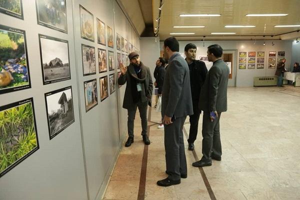 گزارش تصویری ازبازدید سرپرست سازمان  فرهنگی،اجتماعی و ورزشی شهرداری رشت و معاونین از دومین نمایشگاه عکس دیدگار