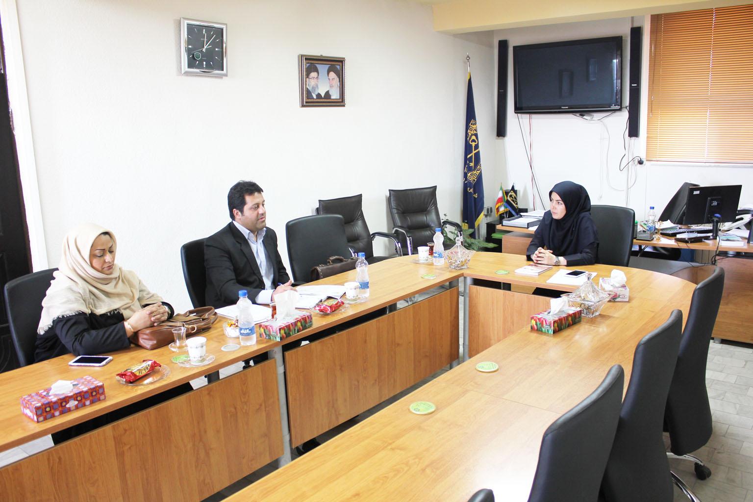 بازدید مدیران شهرداری دامغان  از شهر رشت و بحث و تبادل نظر با محوریت موضوعات درآمدی
